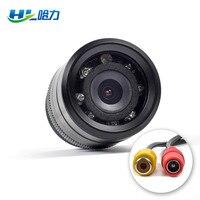 HL Glass Lens 120 Degree Wide CMOS Waterproof Car Rear View Camera 18mm Hole Reversing Backup