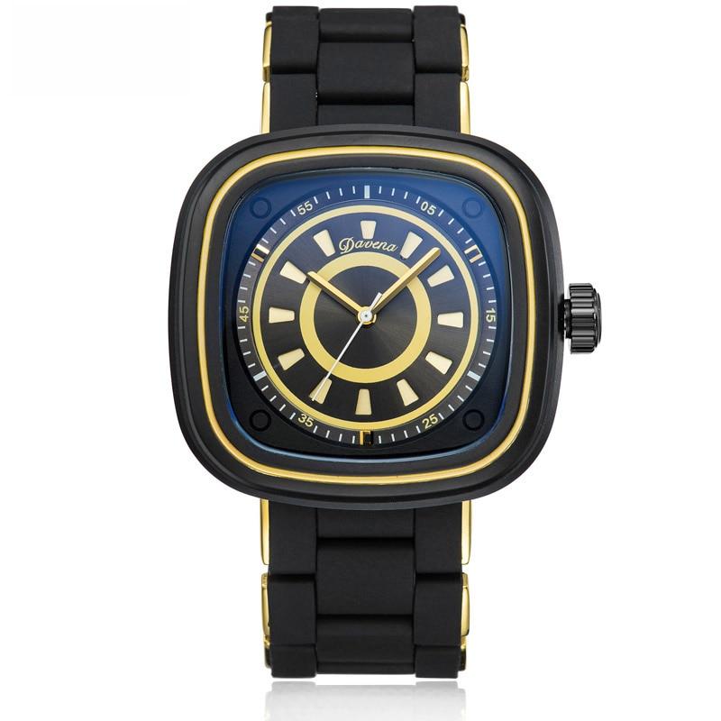 купить Reloj Mujer Square Watches Woman Quartz Watches Couple Silicone Bracelet Waterproof Watch Top Brand Luxury Steel Watch Ladies по цене 12763.97 рублей