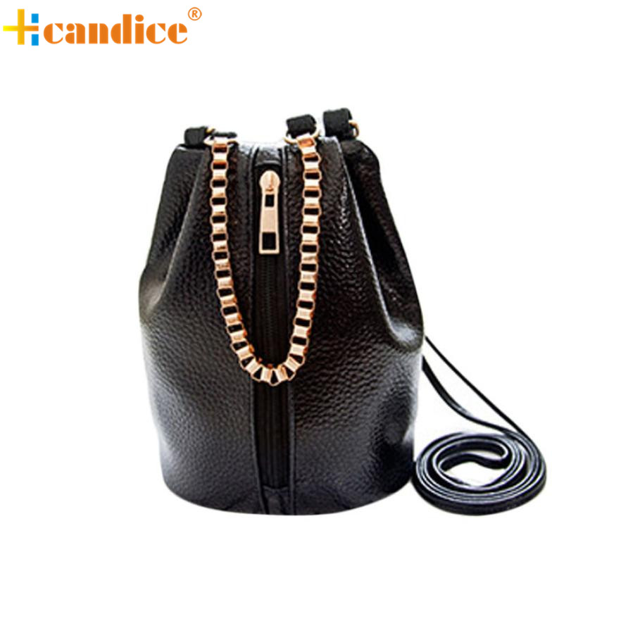 Naivety 2016 New Mini PU Leather Women Handbag Shoulder Bags Lady Chains Messenger Satchel Bag JUN21 drop shipping naivety new fashion women tassel clutch purse bag pu leather handbag evening party satchel s61222 drop shipping