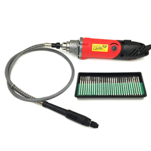 480W Electric Rotary Tools Variable Speed Mini Drill with Flexible Shaft For Dremel Power Tools Electric Drill with 30pcs Burs