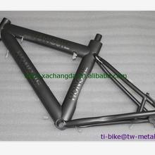 Пользовательская титановая велосипедная Рама со встроенной головкой, специальный титановый велосипедный дорожный велосипед рама с через, Ti рамка
