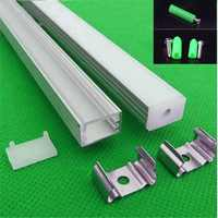 5-30set/lot 12mm strip led aluminium profile for led bar light, led aluminum channel, tape cover ,fit 90/180 degree connector