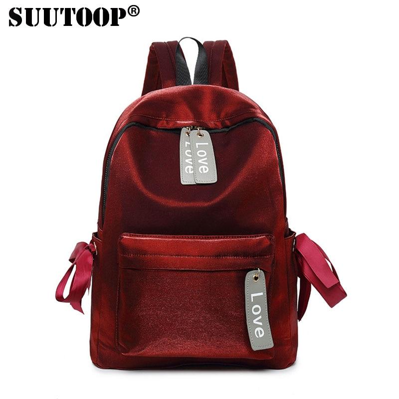 Canvas Backpack Colorful Waterproof Daily Backpack School Teenagers Girls Travel Bag