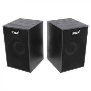 Image 3 - SADA  Portable Mini Wooden Subwoofer Computer Speaker with 3.5mm Audio Plug and USB 2.0 Interface for DVD TV Desktop PC Laptop