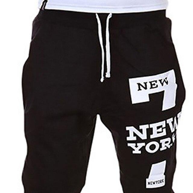 M-SXL Men's Jogger Dance Sportwear Baggy Casual Pants Trousers Sweatpants Dulcet Cool Black/White/Deep gray/Light gray 3