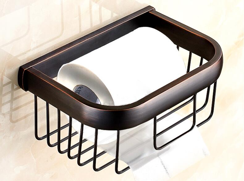 ФОТО Best quality total brass ORB finished single layer soap basket bathroom shelves accessories brass basket