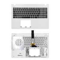 Russia Black laptop keyboard For ASUS X550 X550C X550CA X550CC X550CL X550J X550JD X550JF X550JK WITH COVER C WHITE COVER