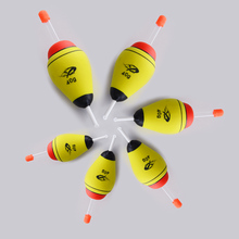 5pcs/set EVA Luminous Floating 20g 30g 40g Light Stick Sea Night Fishing Float Foam Float Tube Buoy Fishing Tackle Accessory