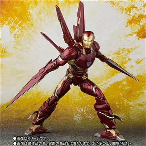 16 cm Avengers Endgame iron Man MK50 figurine Action jouets poupée cadeau de noël