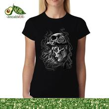Dead Girl Skull Women T-shirt XS-3XL NewStreetwear Funny Print Clothing Hip-Tope Mans T-Shirt Tops Tees Hot Sale Men T Shirt floral skull women t shirt s 3xl newstreetwear funny print clothing hip tope mans t shirt tops tees hot sale men t shirt fashion