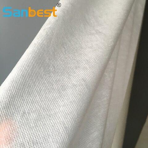 Protetor do Bordado Solúveis em Água Centímetros de Largura Vestido de Roupa Estabilizador de 155 Sanbest 40gsm Lavar Tecido Revestimento Fria Fl00028 Diy Velo Interior