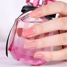 BORN PRETTY Opal Jelly Gel 10ml Pink Jelly Gel Polish Base Coat No Wipe Top Coat White Soak Off Nail UV Gel Varnish 1 Bottle