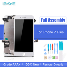 For iPhone 7 Plus Screen LCD Display New Screen for iphone 7 Plus Touch Digitizer Frame Assembly Replacement Full Set Repair new for allen bradley panelview plus 600 2711p t6m5d 2711p t6c20d 2711p t6m20a 2711p t6m20d touch screen