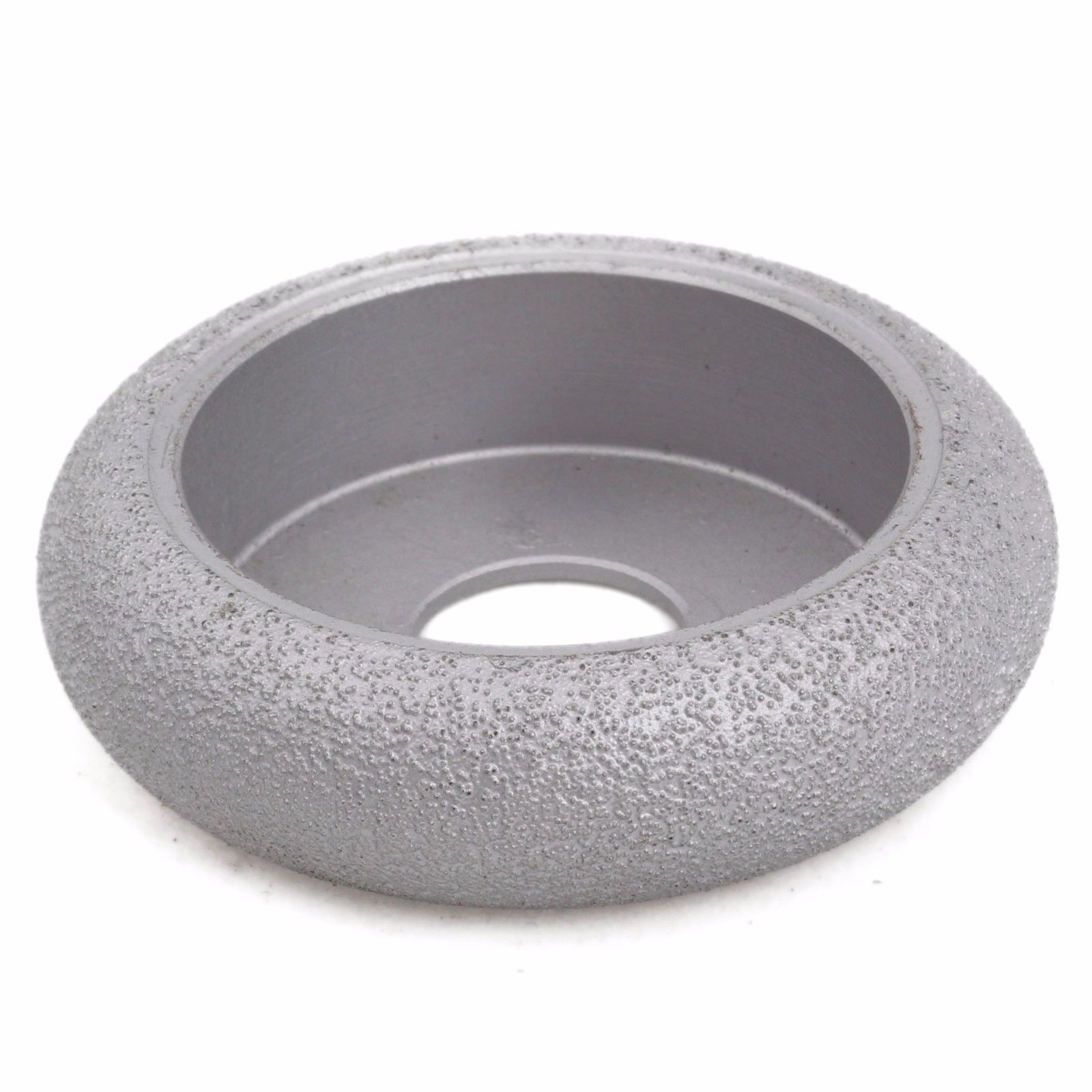 3 inch Grit 60 Width 25 mm Diamond Grinding Wheel Convex Curve BRAZED for Stone ILOVETOOL 4 inch 6 inch straight cup diamond grinding wheel for glass edger straight line double edging beveling machine m009