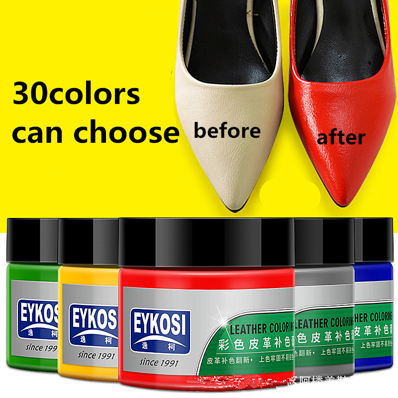 30 colors leather shoes dyed oil bag color paste cream leather toner leather repair renovation care oil leather color paste30 colors leather shoes dyed oil bag color paste cream leather toner leather repair renovation care oil leather color paste