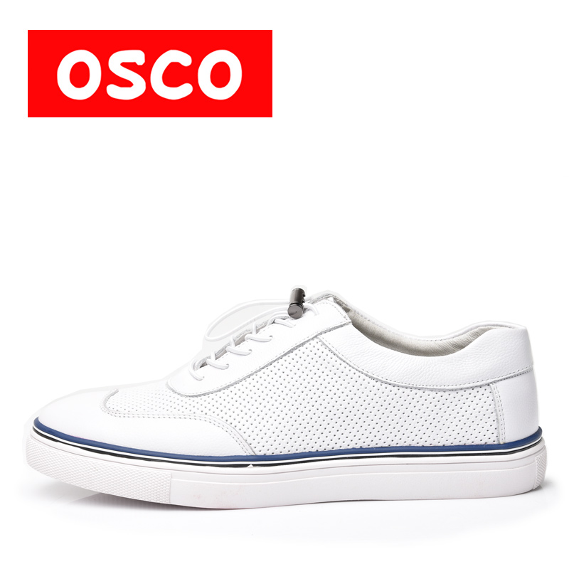 OSCO ALL SEASON New Men Shoes Fashion Men Casual COW LEATHER Shoes#A1035 пена монтажная mastertex all season 750 pro всесезонная