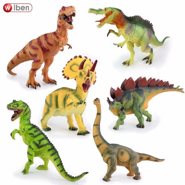 Tyrannosaurus Jurassic Rex Wiben Allosaurus Triceratops Stegosaurus vm8nN0w