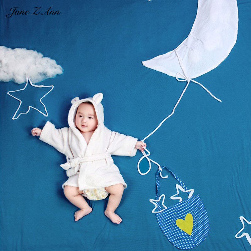 все цены на Jane Z Ann Baby Photography Props Theme Background Costume Clothes fly in sky fotografia Accessories Studio Shooting Photo Props