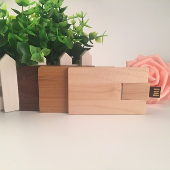OEM ODM Wooden Walnut Maple Card usb 2.0 Version memory flash stick pen drive for photography wedding
