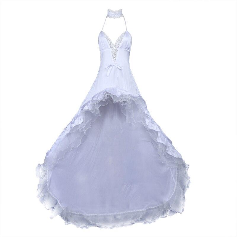 Anime Azur Lane Atago Takao White Flower Vow Wedding Dress Cosplay Costume
