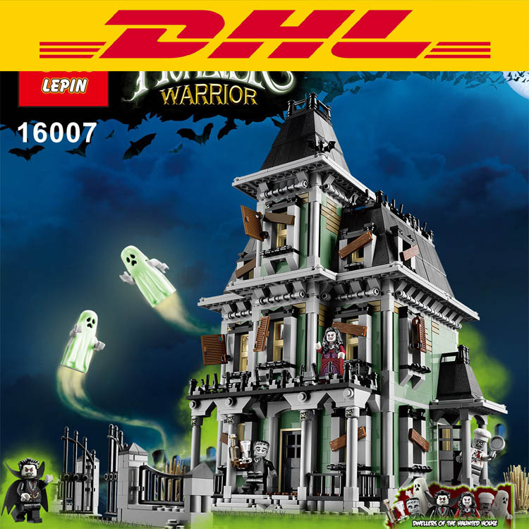 ФОТО new lepin 16007 2141pcs monster fighter the haunted house model set building kits model minifigure compatible with legoed