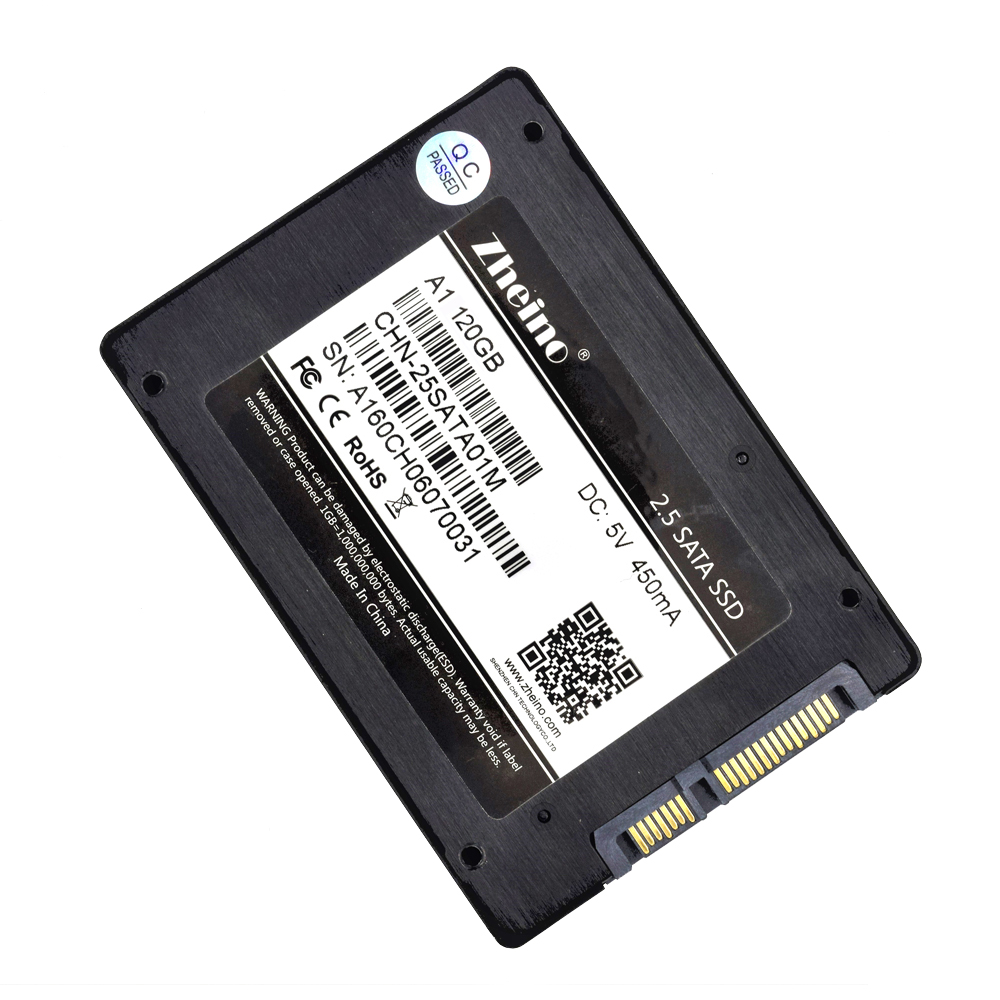 A1 120GB SSD Zheino 2.5 inch SATAIII Internal Solid State Drive 2D MLC For Laptop Desktop with Factory Direct Quality Assurance
