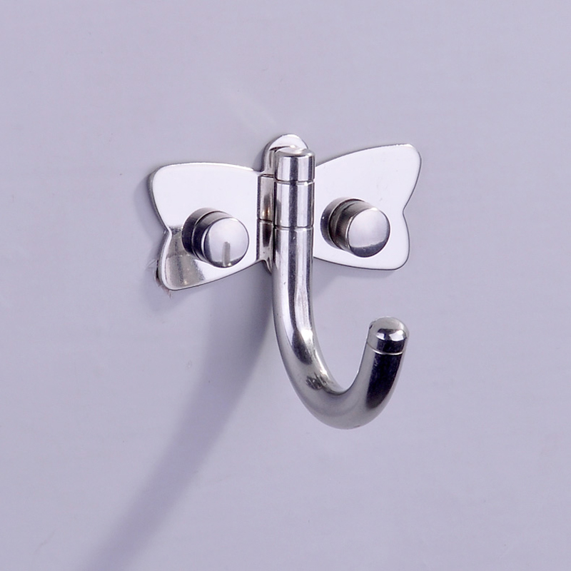 Bathroom Wall Hooks Towels: Polished Chrome Brass Bathroom Wall Door Mounted Towel