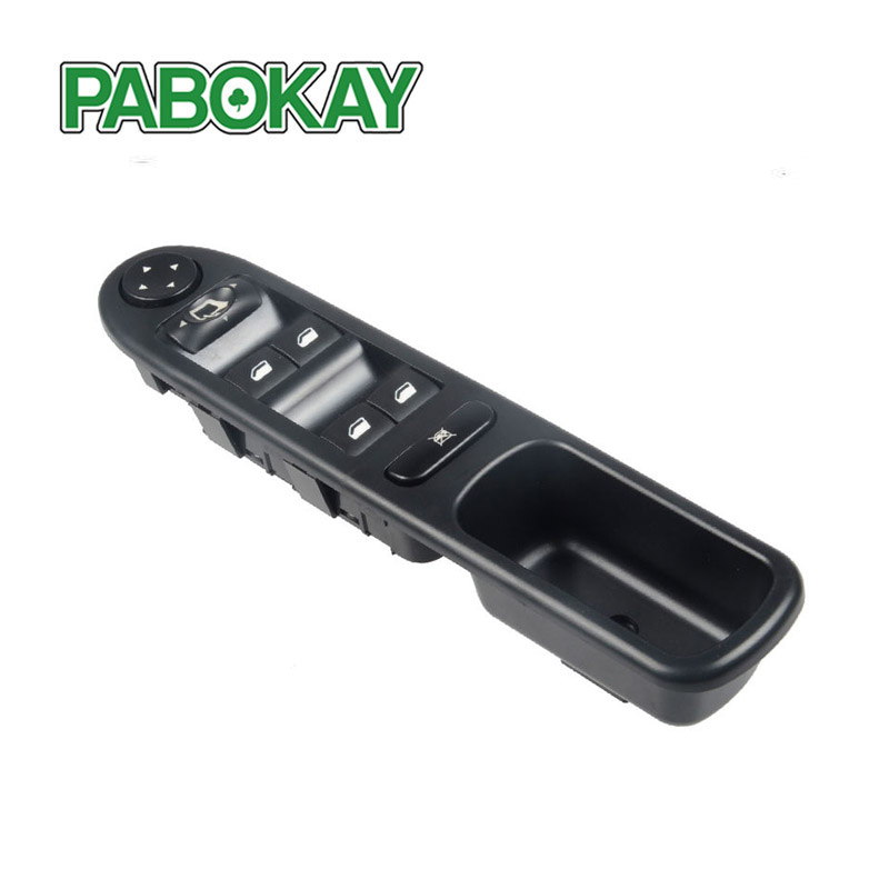 Electric Power Window Master Control Switch 6554.KT for 2002-2014 Peugeot 307