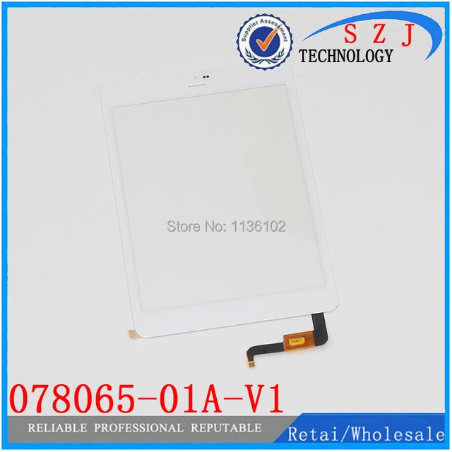 Original 7.85 ''pulgadas para el Cubo U55GT Talk79 Tablet Táctil Campacitive 078065-01A-V1 Panel Táctil Pantalla Digitalizador Del Sensor de Cristal