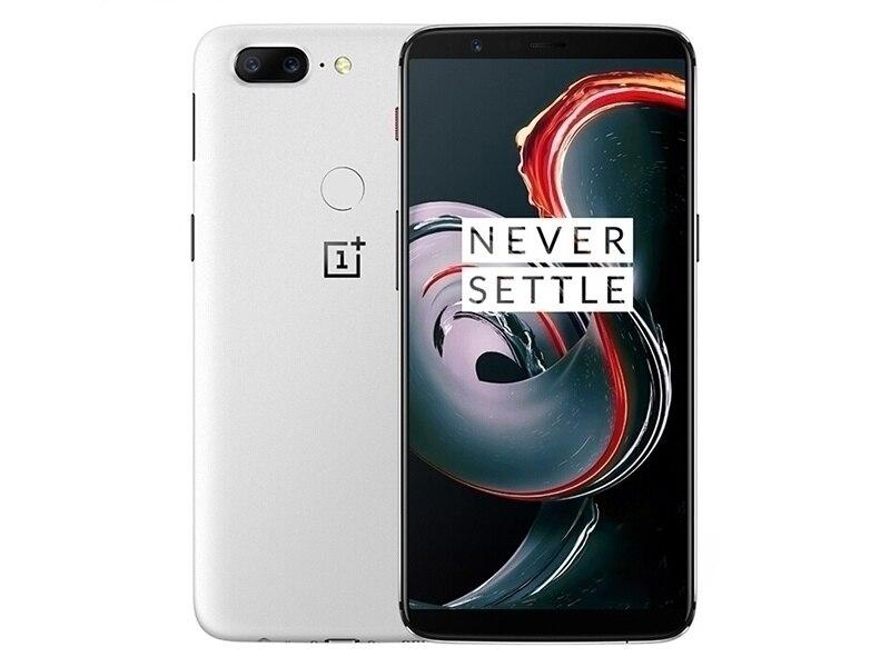 Original nouvelle Version de déverrouillage Oneplus 5T téléphone Mobile 4G LTE 6.01