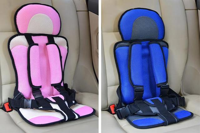 Nova Chegada Confortável Portátil Da Criança Assento de Carro Do Bebê Assento de Segurança Do Carro Isofix, Linda Rosa das Crianças do Bebê Do Assento de Carro cobertura Venda
