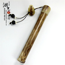 Mosaic gold silk and Africa spend horn with short screw hoist joss stick inserted cylinder manufacturer wholesale