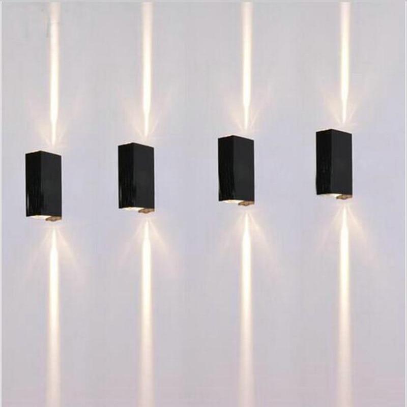 COB Modern LED Wall Lamps 23W Indoor Outdoor Lighting