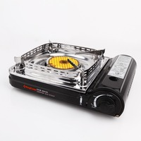 Kingcamp Ceramic Gas Stove with Carrying Case, Butane Stove