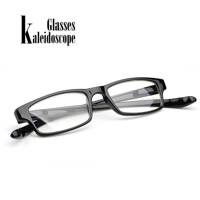 Ultralight Reading Glasses Hanging Carry the Elderly Easy Read Elastic Legs Can be Extended 1.0 2.0 3.0 3.5