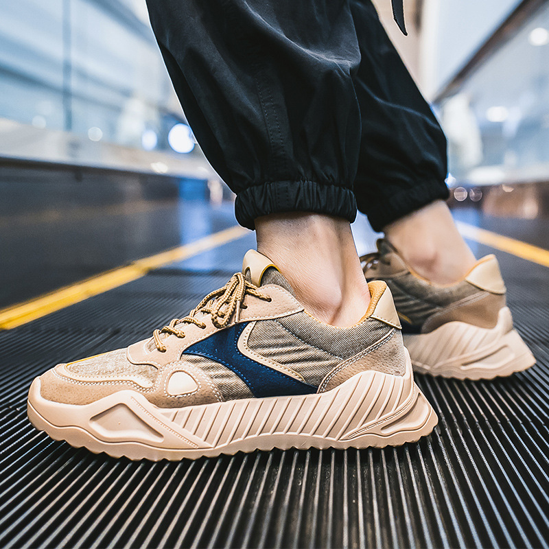 2019 New autumn Summer Men dad Shoes trainers Platform Casual Shoes Man Mesh Breathable Fashion chunky Sneakers Tenis Masculino in Men 39 s Casual Shoes from Shoes