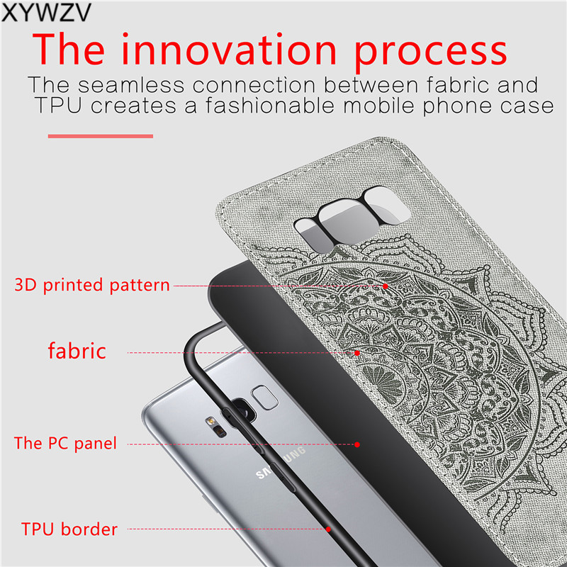 Image 5 - For Samsung Galaxy S8 Case Luxury Soft Silicone Luxury Cloth Texture Phone Case For Samsung Galaxy S8 Back Cover For Samsung S8-in Fitted Cases from Cellphones & Telecommunications