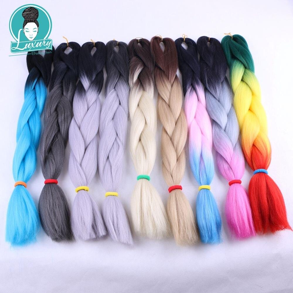 ombre kanekalon braiding hair23