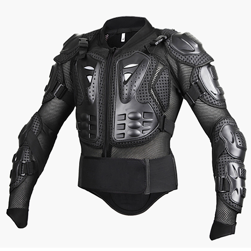 Motorcycle Armor Turtle Jackets MOTO Full Body Spine Chest Protective Gear Jacket size M L XL