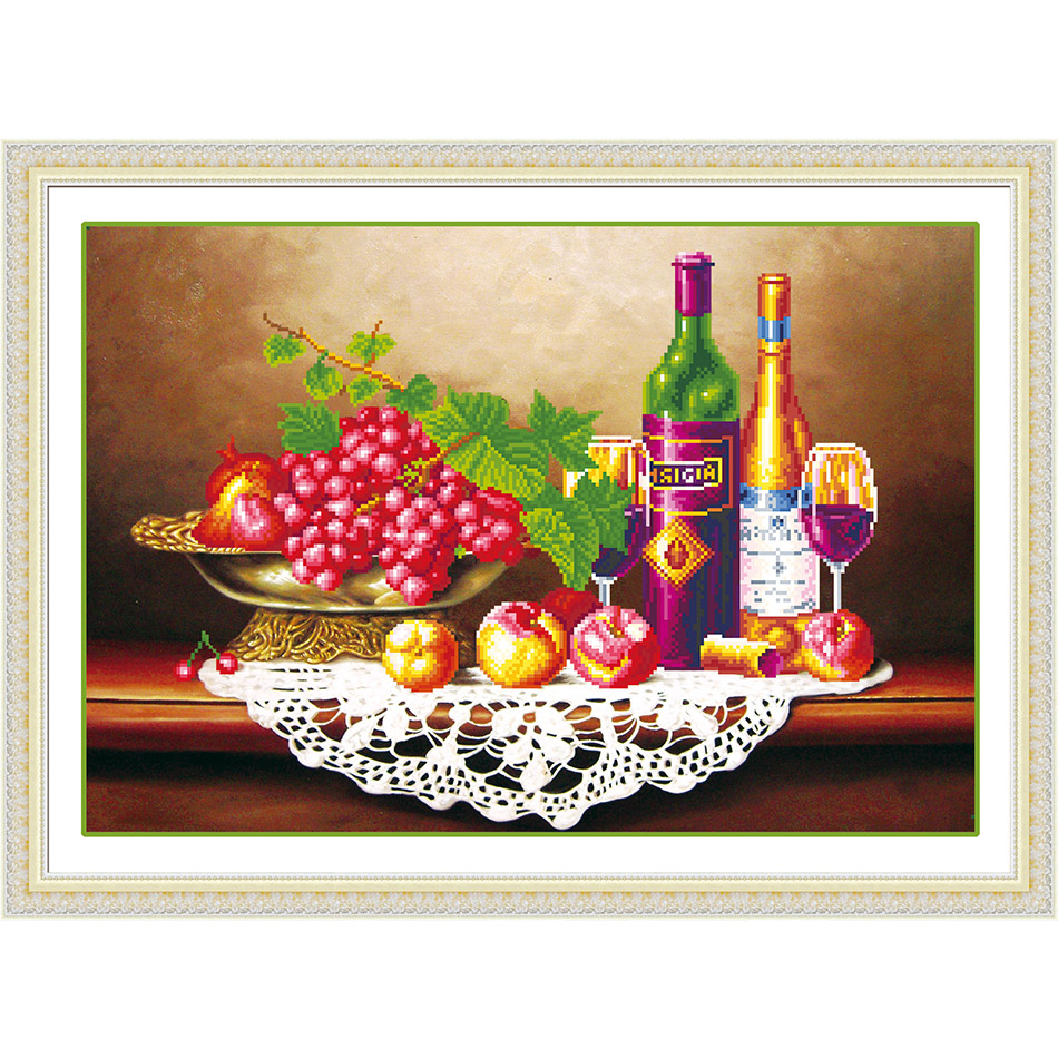 5D DIY Diamond painting Restaurant fruit diamond inlaid living room bedroom adornment to give the child presents
