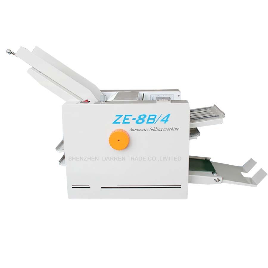 ZE-8B/4 plieuse de papier automatique max pour papier A3 + grande vitesse + 4 plateaux pliants