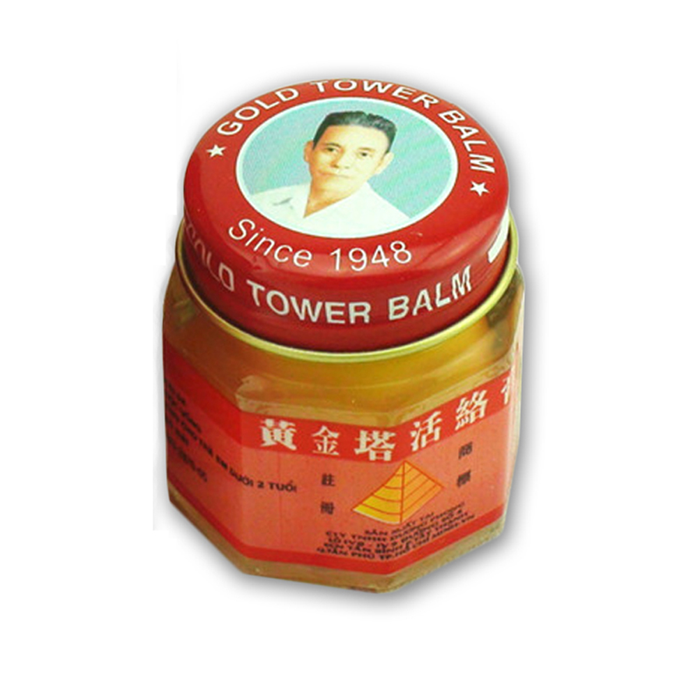 20g Vietnam Gold Tower Cream Ointment Arthritis Muscle Aches Pain Relieving Patch Massage Relaxation White Tiger Cream