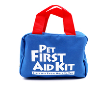BearHoHo Handy Pets Essential First Aid Kit Medical Emergency Bag For Gog Cat 25 Pieces Blue