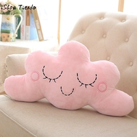 Smile Cloud Pillow Cartoon Cotton Cushions Pillow Children Pillow Baby Room Decorative Cushion Bed Toy Camera