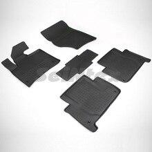 Для Audi Q7 2005-2015 резиновые коврики в салон автомобиля 5 шт./компл. Seintex 85548