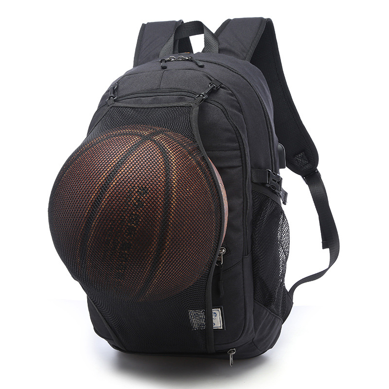 Sport Backpack Men Laptop Backpack School Bag For Teenager Boys Soccer Ball Pack Bag Gym Bags Male With Football Basketball Net