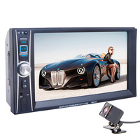 Autoradio Car Radio Multimedia MP5 MP4 Player 2 Din Bluetooth Stereo FM In Steering Wheel Control