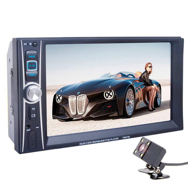 autoradio Car radio Multimedia MP5 MP4 Player 2 Din Bluetooth Stereo FM in steering wheel control for android screen mirroring steering wheel control car radio mp5 player fm usb tf 1 din remote control 12v stereo 7 inch car radio aux touch screen