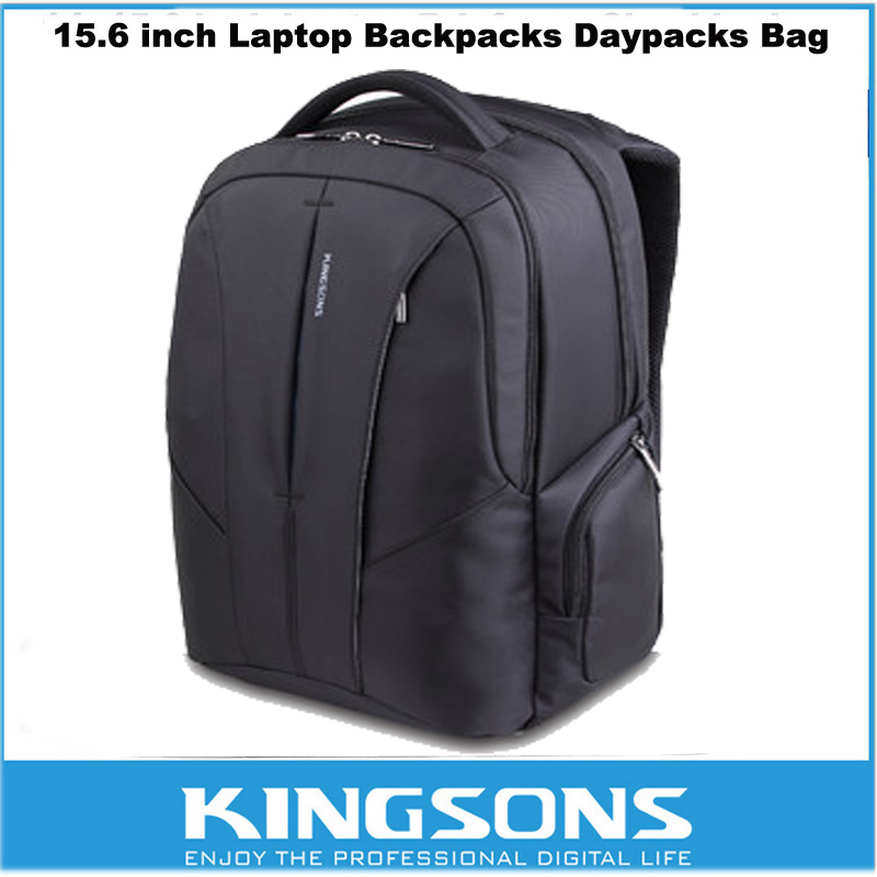 Kingsons Simple Style Laptop Backpack 15.6 Inch Premium Shockproof Travel Bag For Macbook/ Asus/ Lenovo/ Acer/ Dell/ Sony/ HP