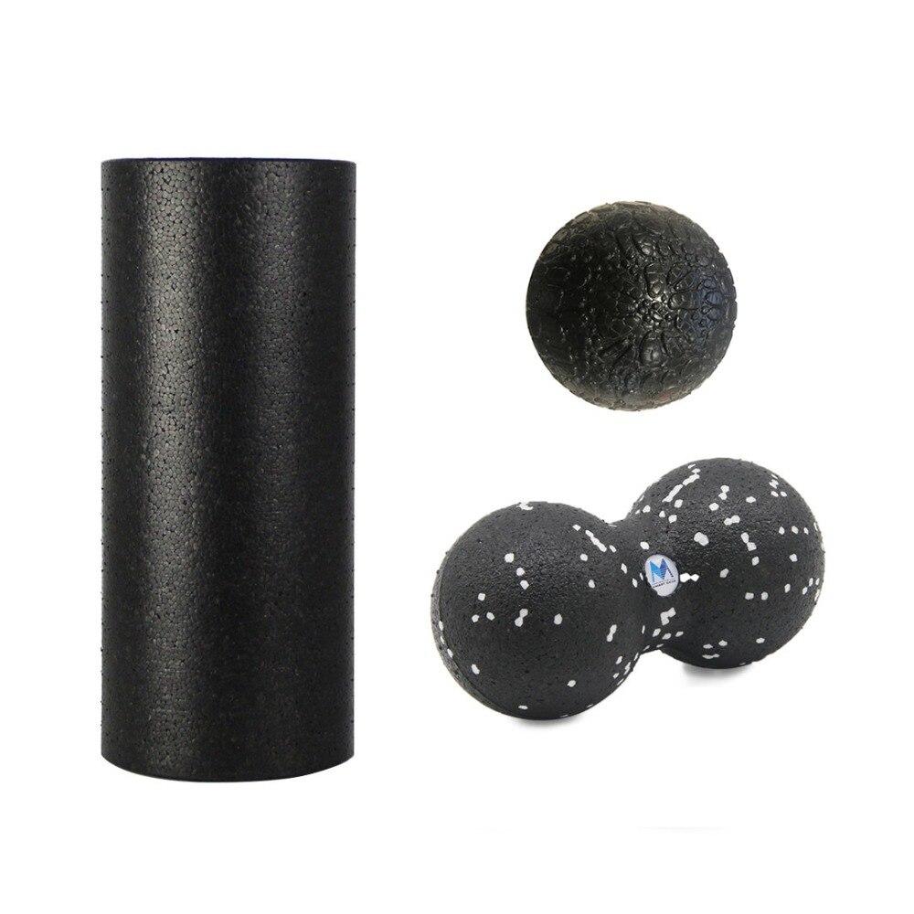 EPP Foam Roller Set(30cm Roller+24*12cm Peanut Ball+8cm Ball), EPP Massage Peanut Ball Set(24*12cm+16*8cm+8*8cm Ball) jdl star jdl star jd003emiyz97